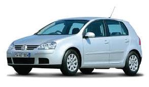 inchirieri masini rent a car vw golf 5