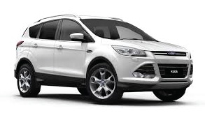 autonoleggio ford kuga, rent a car suv 4x4
