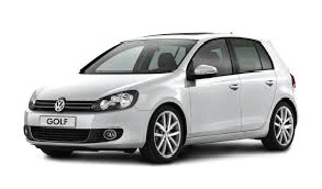 car hire without a credit card, rent a car vw golf