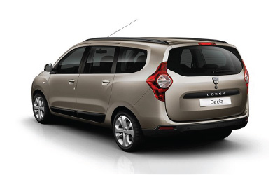 rent a car dacia lodgy