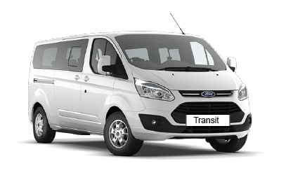 rent a car ford transit 8+1