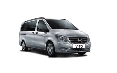 rent a car mercedes vito 8+1
