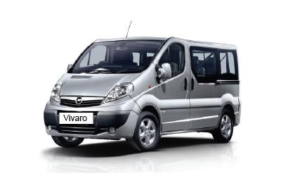 rent a car opel vivaro 8+1