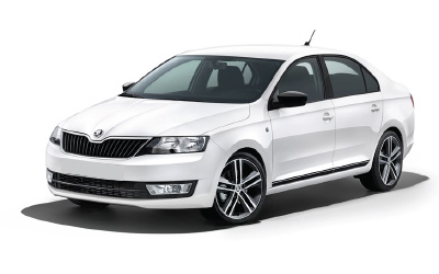 rent a car Bucuresti Otopeni Aeroport skoda rapid